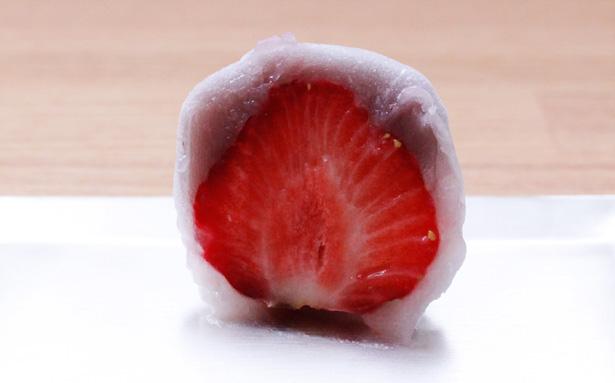 鈴懸の苺大福