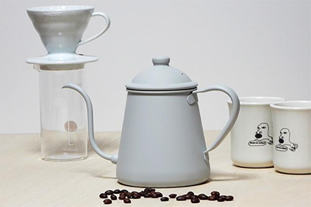 ブランディングコーヒー 別注 タカヒロ ドリップポット 0.9L 雫