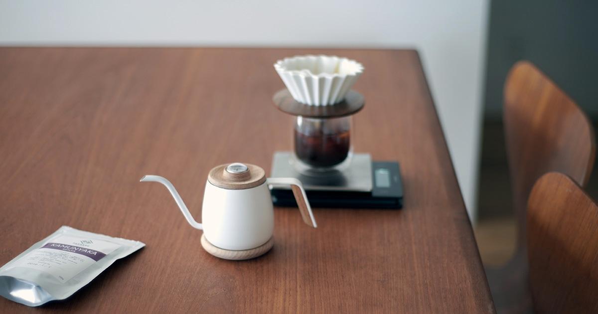 Simple Real TAMAGO コーヒードリップポット・ドリッパー・グラス