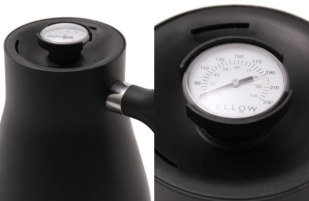 The Tastemakers & Co. POUR-OVER KETTLE with THERMOMETER