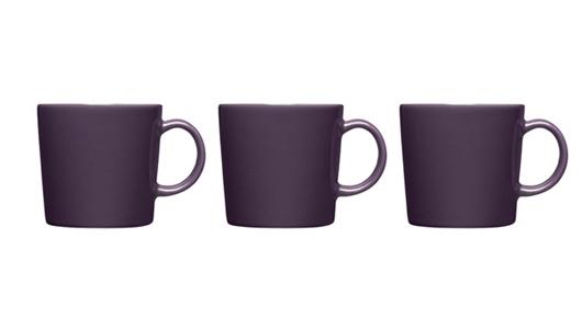 iittala(イッタラ)ティーマのマグカップに限定色『ダークライラック』