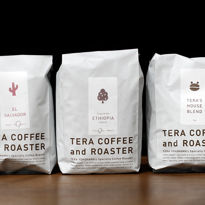 TERA COFFEE and ROASTER  Ethiopia・El Salvador・HOUSE BLEND