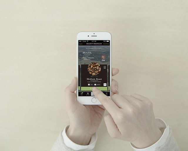 Panasonic(パナソニック)家庭用焙煎機『The Roast』 専用アプリ