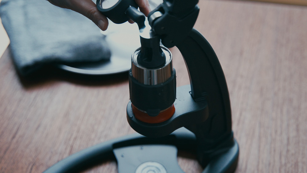 Flair Espresso Maker The NEO 抽出ヘッド