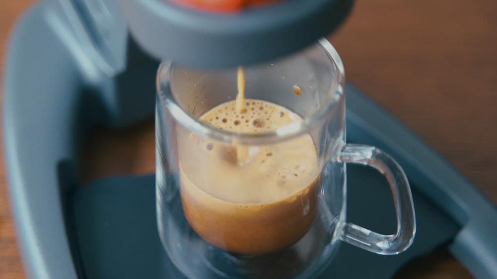 Flair Espresso Maker The NEOで抽出したエスプレッソ
