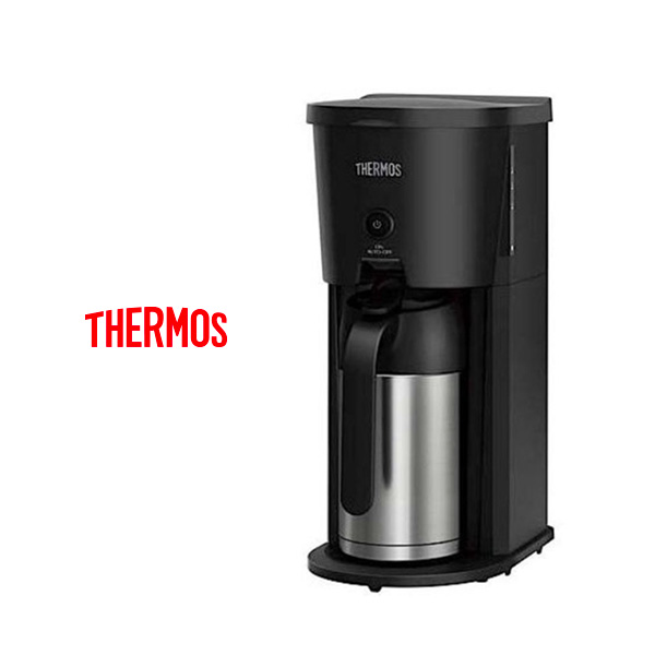 THERMOS(サーモス)から、マイコン蒸らし機能搭載の『真空断熱ポット コーヒーメーカー』新登場。