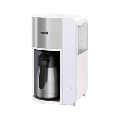 サーモスの真空断熱ポット コーヒーメーカーが登場! 新しいドリップ方式【スパイラルドリップ】を採用