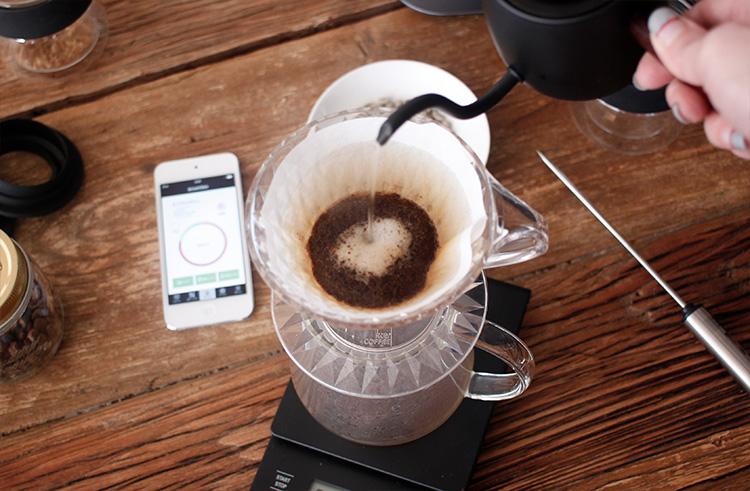 Panasonic(パナソニック)焙煎機 The Roast(ザ・ロースト)のコーヒー