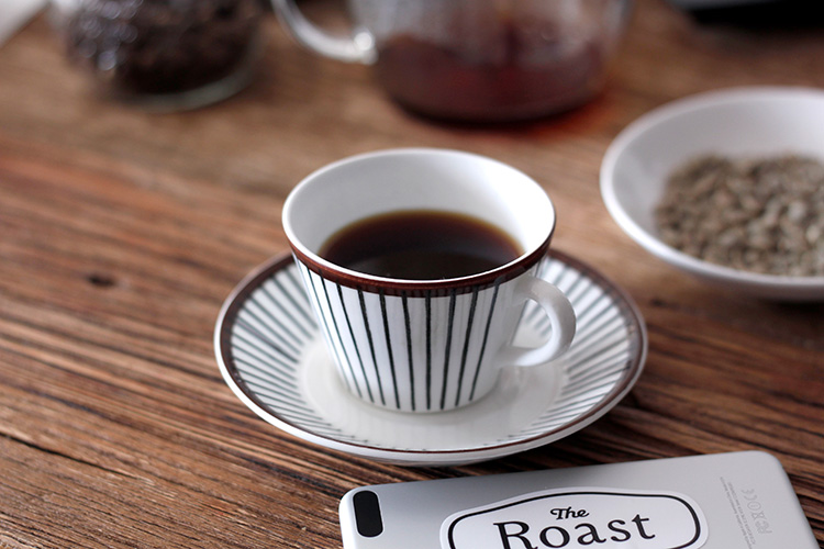 パナソニックの家庭用焙煎機 The Roast(ザ・ロースト)で焙煎したコーヒー