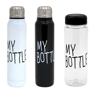 TODAY'S SPECIALのMY BOTTLE(マイボトル)とThermo MY BOTTLE(サーモマイボトル)
