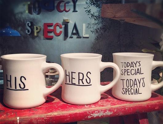 TODAY'S SPECIALのマグカップ