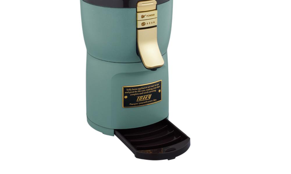 Toffy 1杯用の全自動ミル付アロマコーヒーメーカー