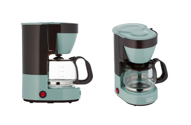 ラドンナ Toffy 4カップコーヒーメーカー K-CM1 パールアクア