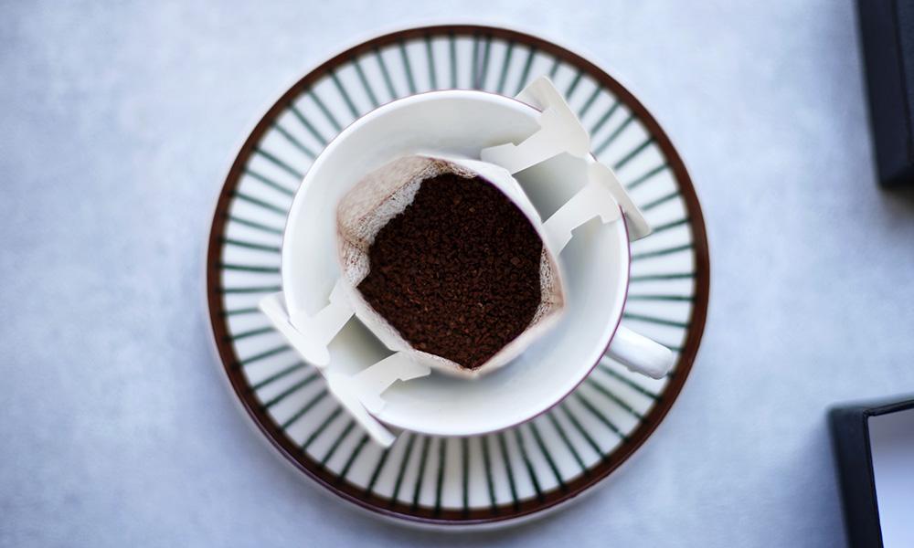 エルマーズグリーンのドリップバッグコーヒー