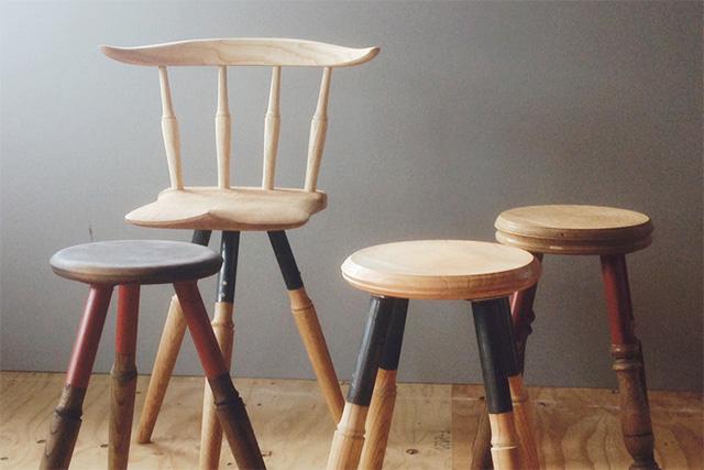 鳥ヶ丘製作所 スツール・椅子