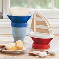 Trip to Marina Coffee dripper & Filter holder(トリップ トゥ マリーナ コーヒードリッパー&フィルターフォルダー )