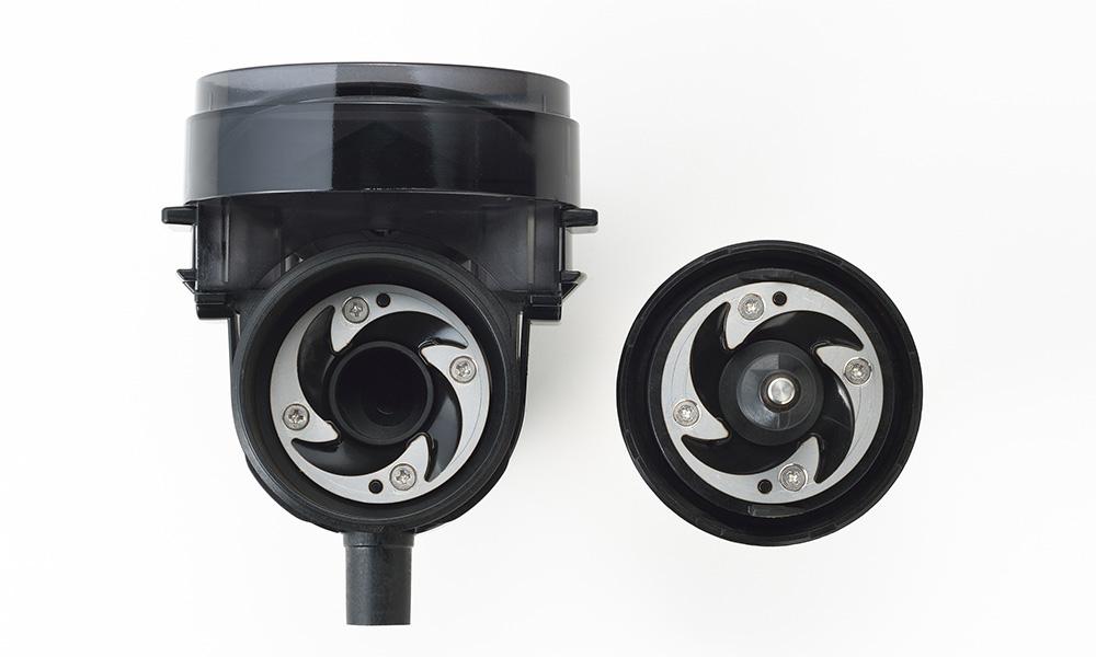 TWINBIRD(ツインバード)全自動コーヒーメーカー CM-D457B グラインダー部分
