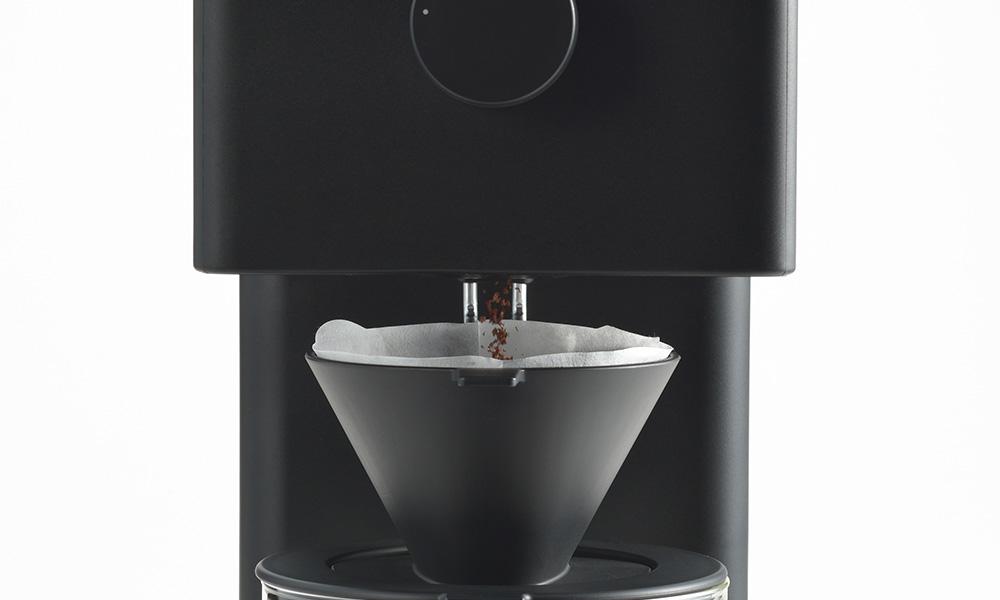 TWINBIRD(ツインバード)全自動コーヒーメーカー CM-D457B コーヒー豆を挽く