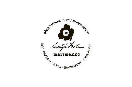 マリメッコ ウニッコ生誕50周年記念のスタンプ