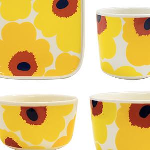 marimekko(マリメッコ)ウニッコ生誕50周年記念 路面店限定のマグカップやボウル、トレイ