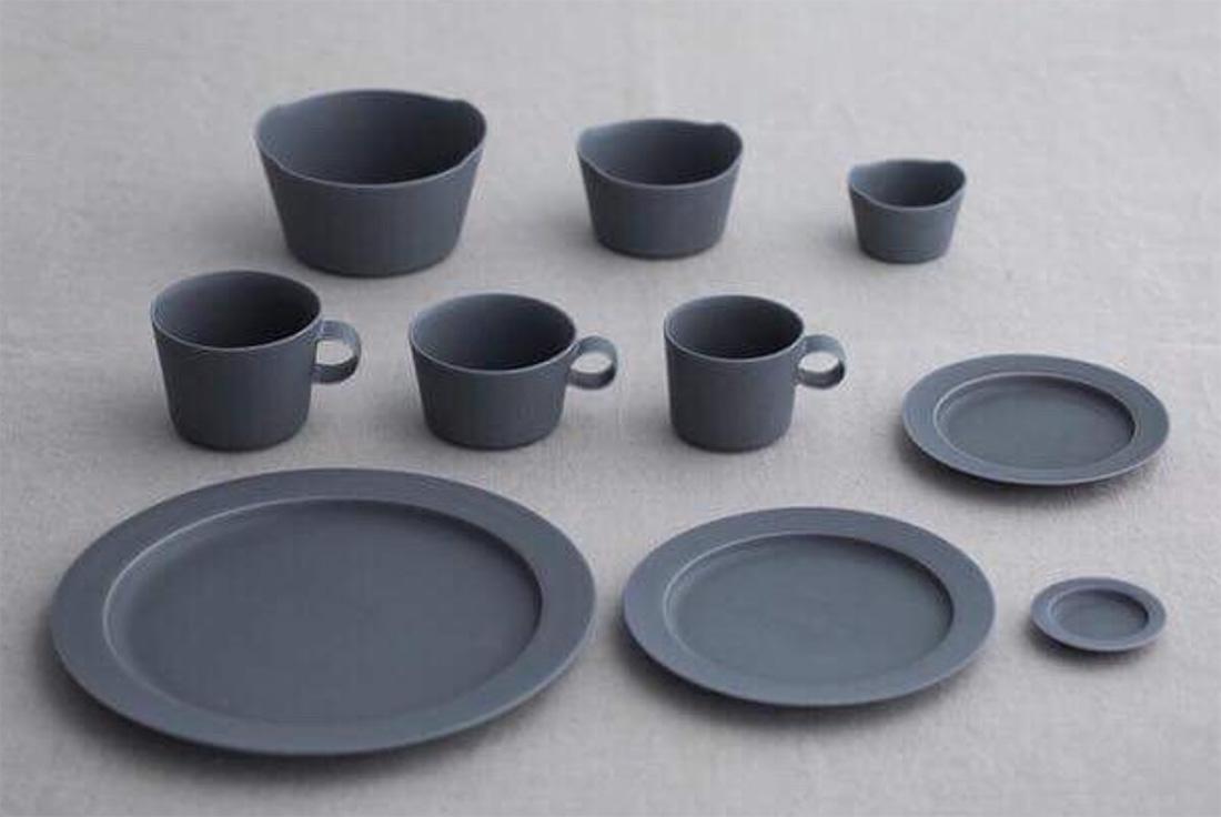 イイホシユミコ/yumiko iihoshi porcelain un jour(アンジュール) 新色rainy gray