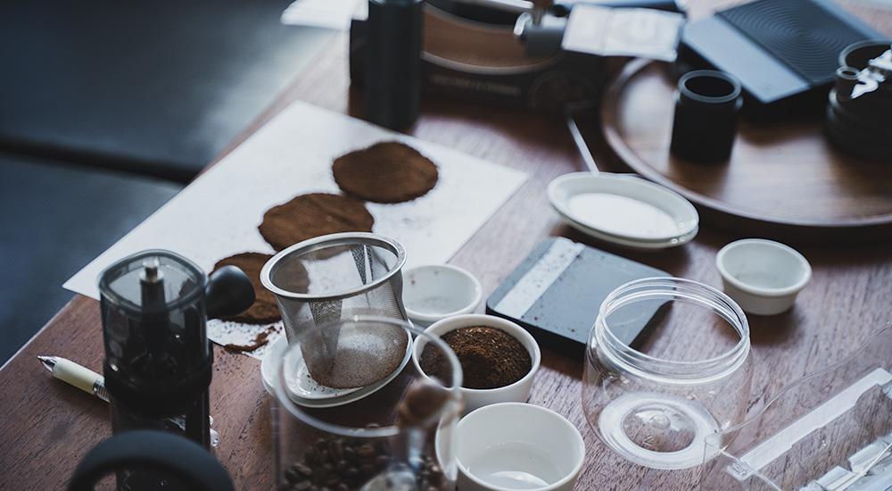 コーヒーミル 粒度比較