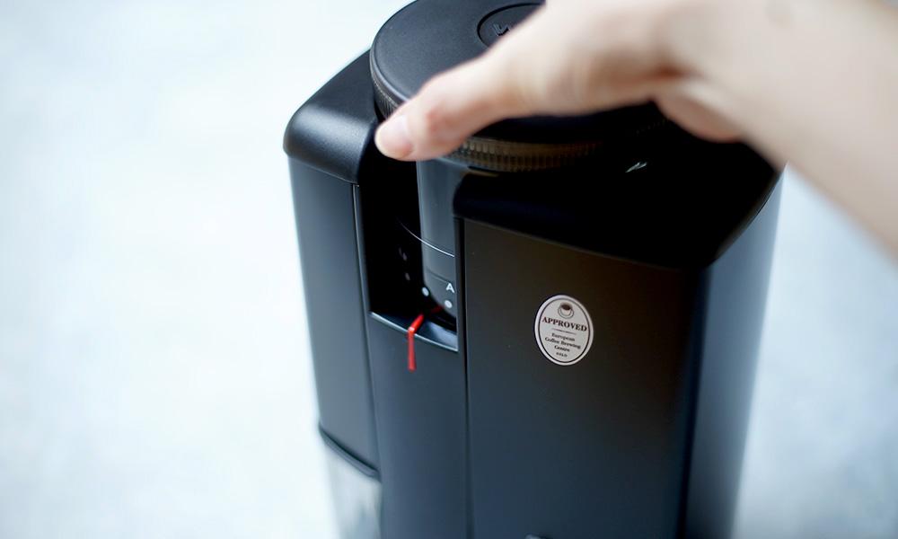 Wilfa SVART Aroma コーヒーグラインダー 挽き具合調整