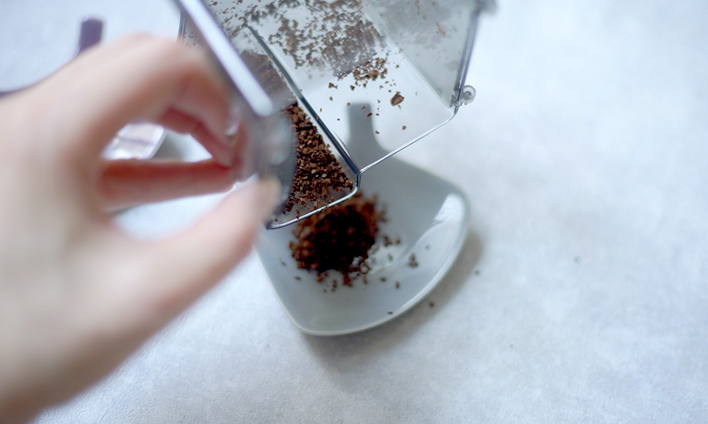Wilfa SVART Aroma コーヒーグラインダー 粉受け