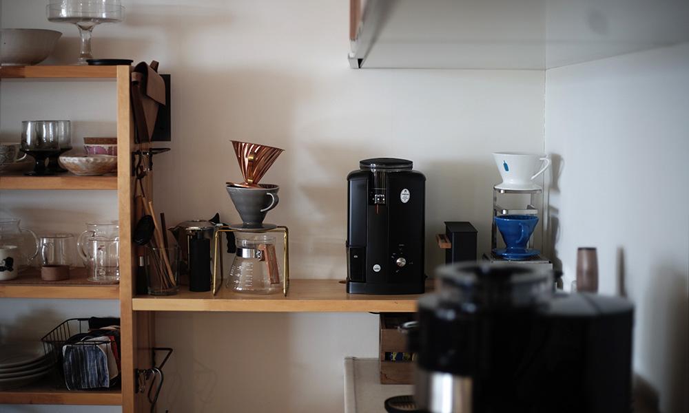 Wilfa SVART Aroma コーヒーグラインダー スイッチオン