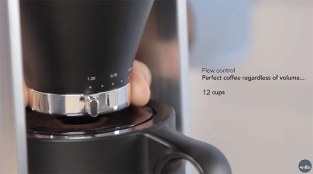 『Wilfa』svart Precision コーヒーメーカー ブラック