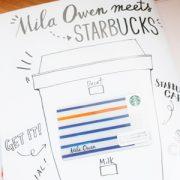 オリジナルのスターバックスカード付き『Mila Owen』のムック、大人気ということで私も買ってみました。