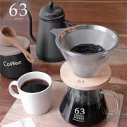 63 ロクサンのステンレスフィルター付きドリッパーとコーヒーサーバー、ドリップポットが新発売!