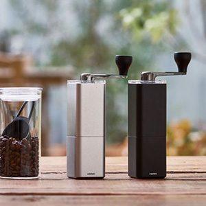 HARIO(ハリオ)から、  2種類のコンパクトでおしゃれなコーヒーミルが新登場!