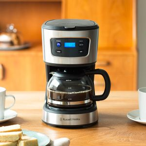 ラッセルホブスの5カップコーヒーメーカー、リニューアル!  『Basic Drip ベーシックドリップ 7620JP』として新登場。