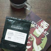 STANDART 8号も、読み応えたっぷり。  Drop Coffee Roastersのコーヒーと。