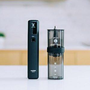 HARIOから、スマートG 電動ハンディーコーヒーグラインダーが登場。