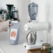 カリタのコーヒーミル【ネクストG】、  九州限定色 ホワイトが素敵すぎる。