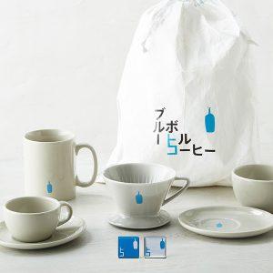 ブルーボトルコーヒー日本上陸5周年!  記念してグレーのドリッパーやマグが登場。