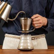 ネルのようなコーヒーを!HARIO 粕谷モデル  『ダブルステンレスドリッパー』と『プアコントロールケトル』が登場!