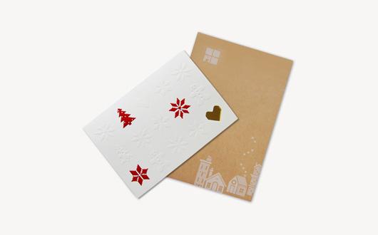 ホリデーニットビバレッジカード