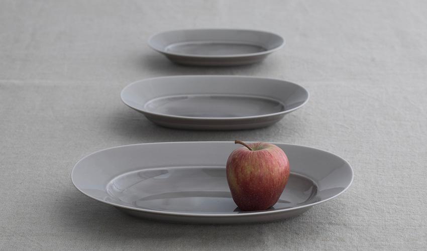 yumiko iihoshi porcelain Oval Plate