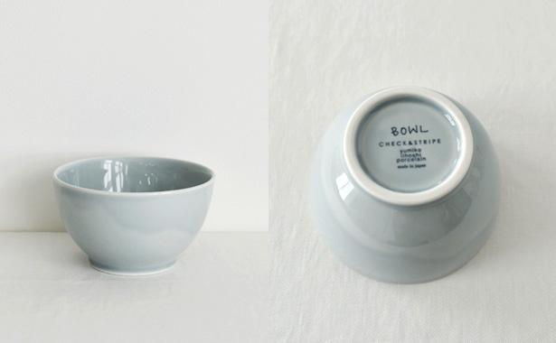 イイホシユミコ × CHECK&STRIPE カフェオレボウル