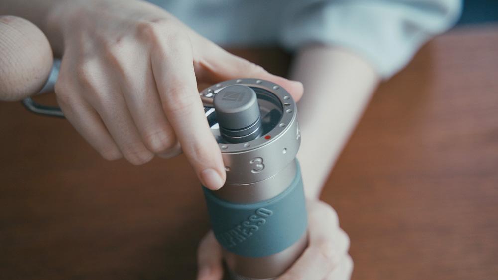 1Zpresso コーヒーグラインダー